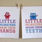 Little Monsters Wash Their ..