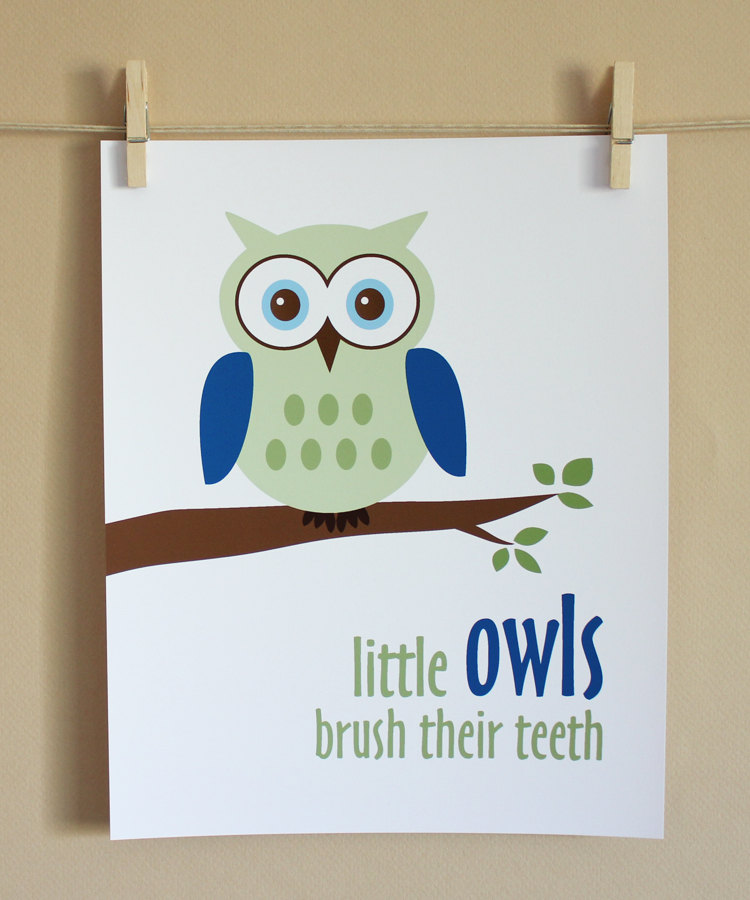 12 Cute Reminders for brushing your kids teeth